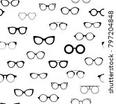 seamless retro glasses web ui....