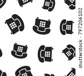 phone seamless pattern...
