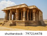 old vittala temple in hampi ... | Shutterstock . vector #797214478
