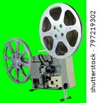 a movie projector is an opto... | Shutterstock . vector #797219302