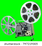 a movie projector is an opto... | Shutterstock . vector #797219305