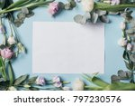 mother's day composition ... | Shutterstock . vector #797230576
