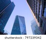 roppongi  tokyo   japan  ... | Shutterstock . vector #797239342