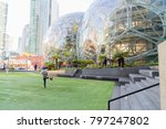 seattle  washington circa... | Shutterstock . vector #797247802
