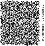 leopard print background | Shutterstock . vector #797250532