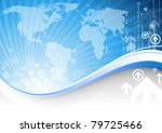 blue business | Shutterstock .eps vector #79725466