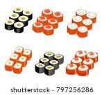 vector illustration of set of... | Shutterstock .eps vector #797256286