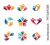 unity business logo | Shutterstock .eps vector #797269285