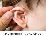 ear infections  ear pain and... | Shutterstock . vector #797272498