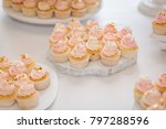 candy bar decorated by... | Shutterstock . vector #797288596