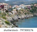 assos city kefalonia | Shutterstock . vector #797300176