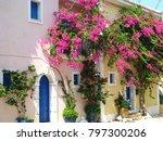 assos city kefalonia | Shutterstock . vector #797300206
