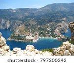 assos city kefalonia | Shutterstock . vector #797300242