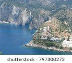 assos city kefalonia | Shutterstock . vector #797300272