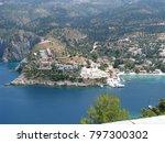 assos city kefalonia | Shutterstock . vector #797300302