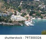 assos city kefalonia | Shutterstock . vector #797300326