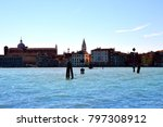 wonderful city of murano ... | Shutterstock . vector #797308912