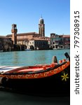 wonderful city of murano ... | Shutterstock . vector #797308915