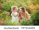 Beautiful Child Girl With...
