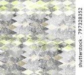 seamless pattern argyle design. ... | Shutterstock . vector #797328352