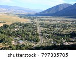 overlook nevada state route 206 | Shutterstock . vector #797335705