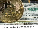 picture of crypto currency... | Shutterstock . vector #797352718