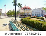 cienfuegos  cuba   gazebo on...   Shutterstock . vector #797362492