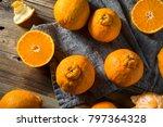 Fresh Raw Sumo Oranges Ready To ...