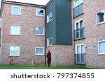 pure water high reach window... | Shutterstock . vector #797374855