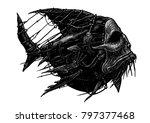 steampunk style. industrial... | Shutterstock . vector #797377468