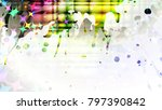 wide format abstract grunge... | Shutterstock .eps vector #797390842