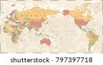 world map vintage old retro  ...   Shutterstock .eps vector #797397718