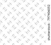 seamless ornamental vector... | Shutterstock .eps vector #797406052