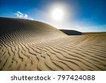 maspalomas sand dunes | Shutterstock . vector #797424088