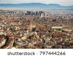 view of naples from castle sant ... | Shutterstock . vector #797444266