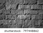 the image of the wall  for use... | Shutterstock . vector #797448862