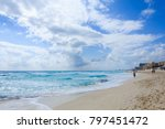 cancun mexico   january 27 2013 ... | Shutterstock . vector #797451472