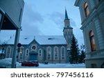 northern europe norway tromso | Shutterstock . vector #797456116