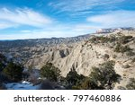 view of layers of rock ... | Shutterstock . vector #797460886