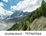 spectacular panorama of mer de... | Shutterstock . vector #797465566