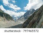spectacular panorama of mer de... | Shutterstock . vector #797465572