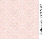 art deco background. | Shutterstock .eps vector #797472502