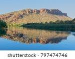 the ord river near kununurra ... | Shutterstock . vector #797474746