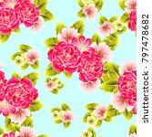abstract elegance seamless... | Shutterstock . vector #797478682