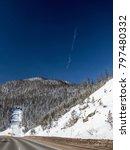 colorado mountain highway | Shutterstock . vector #797480332