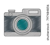 camera photographic isolated...   Shutterstock .eps vector #797484856
