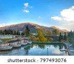 fall in jermuk armenia | Shutterstock . vector #797493076