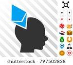 ethereum penetrated head... | Shutterstock .eps vector #797502838