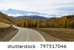 chuya highway and mountain... | Shutterstock . vector #797517046