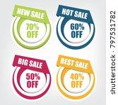 web sale banner | Shutterstock .eps vector #797531782